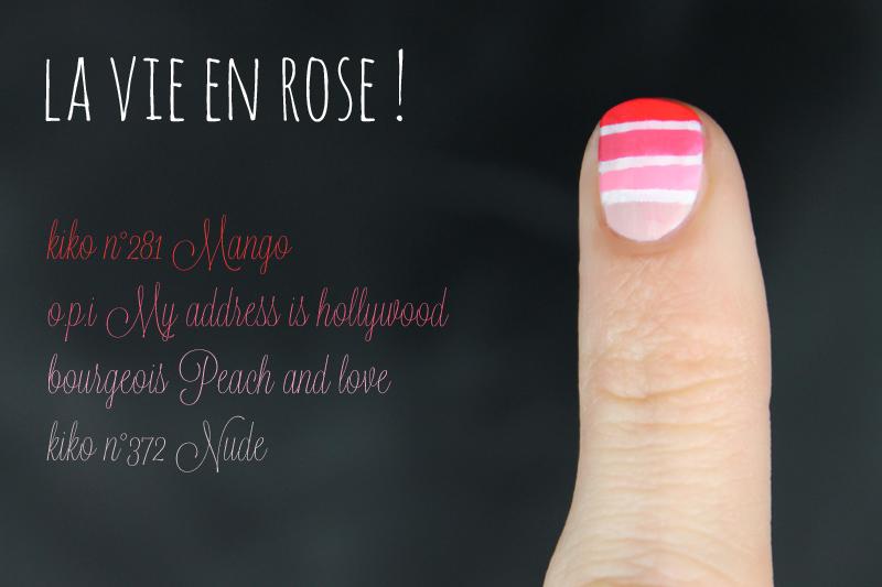 Dégradés du vendredi #8 rose